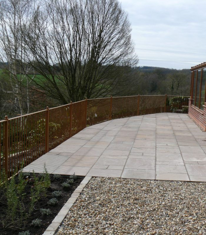 Landscaping in Alton - Indian Stone Patio