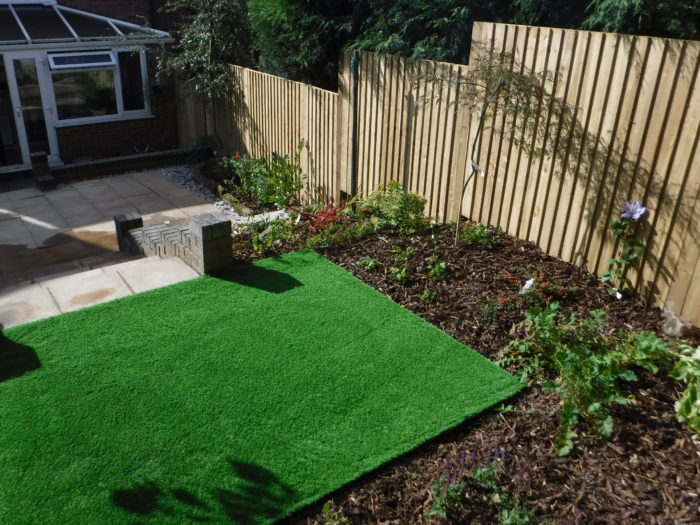 Landscaping in Biddulph - Artificial Turf