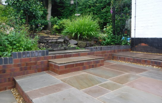Landscaping in Biddulph