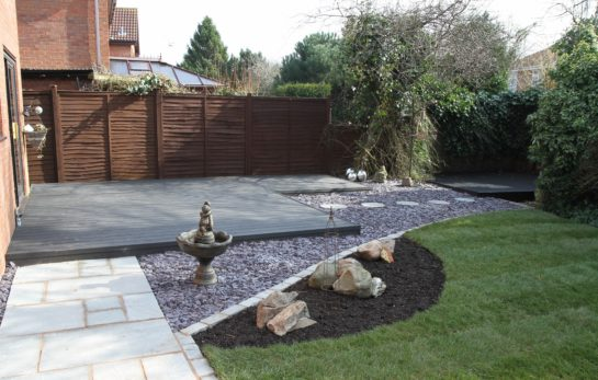 Landscaping in Swynnerton