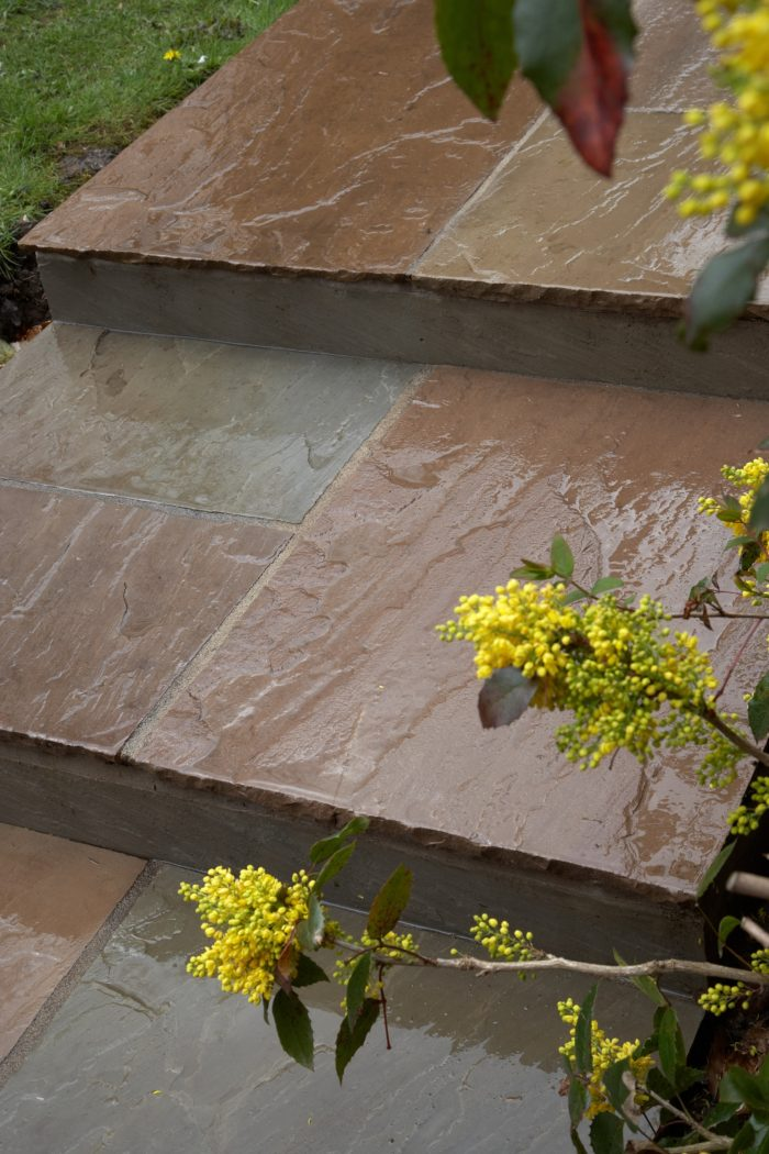Indian Stone Paving - Landscaping in Sandbach