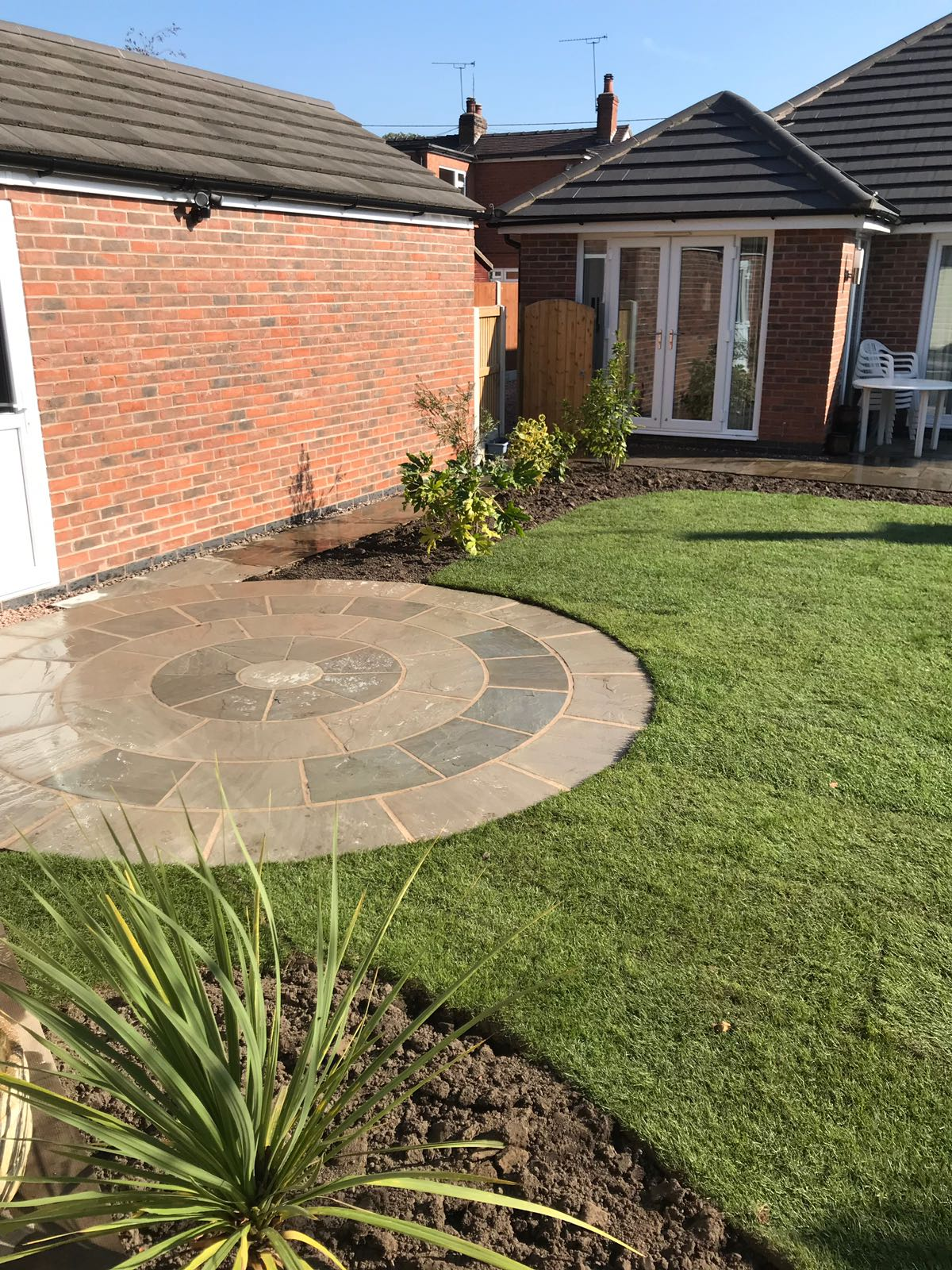 Landscaping in Rudyard