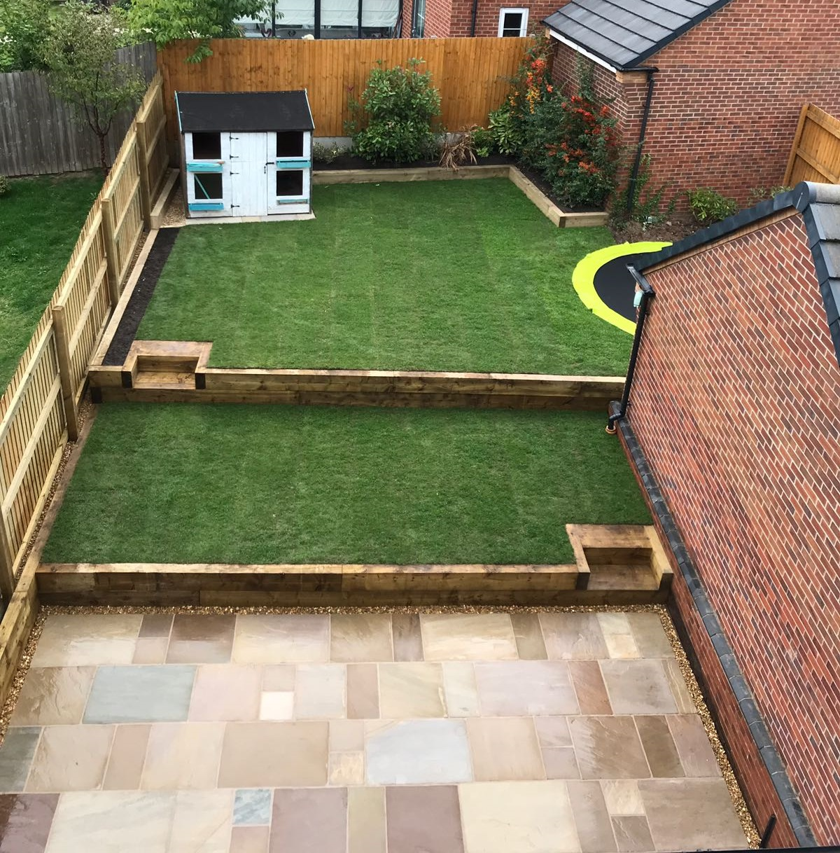 Family Friendly Landscaping in Staffordshire