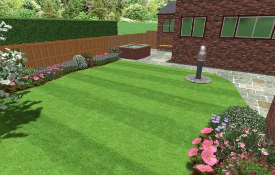 Landscape Gardener in Cheadle - 3D CAD