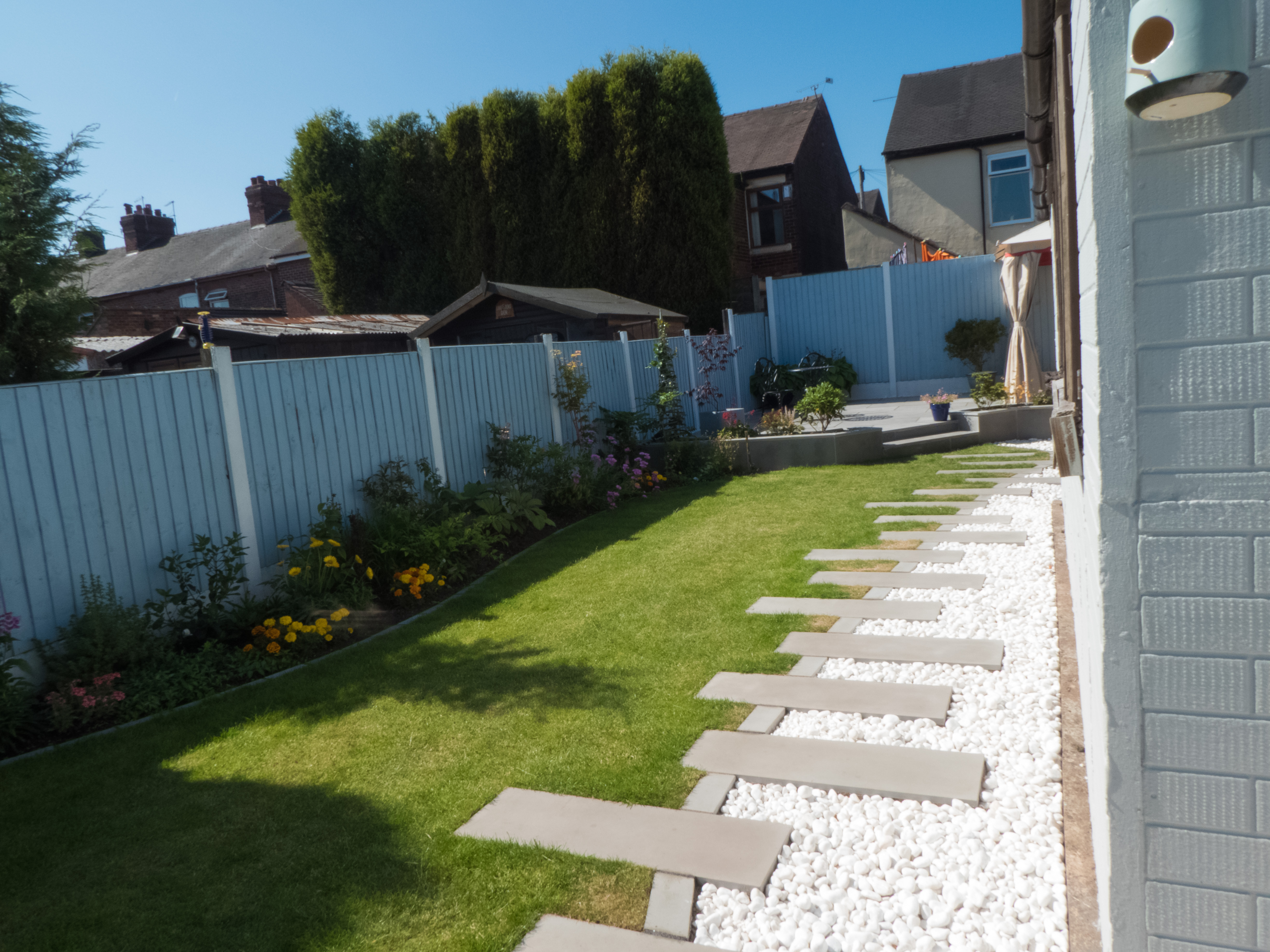 Landscaping in Staffordshire and Cheshire