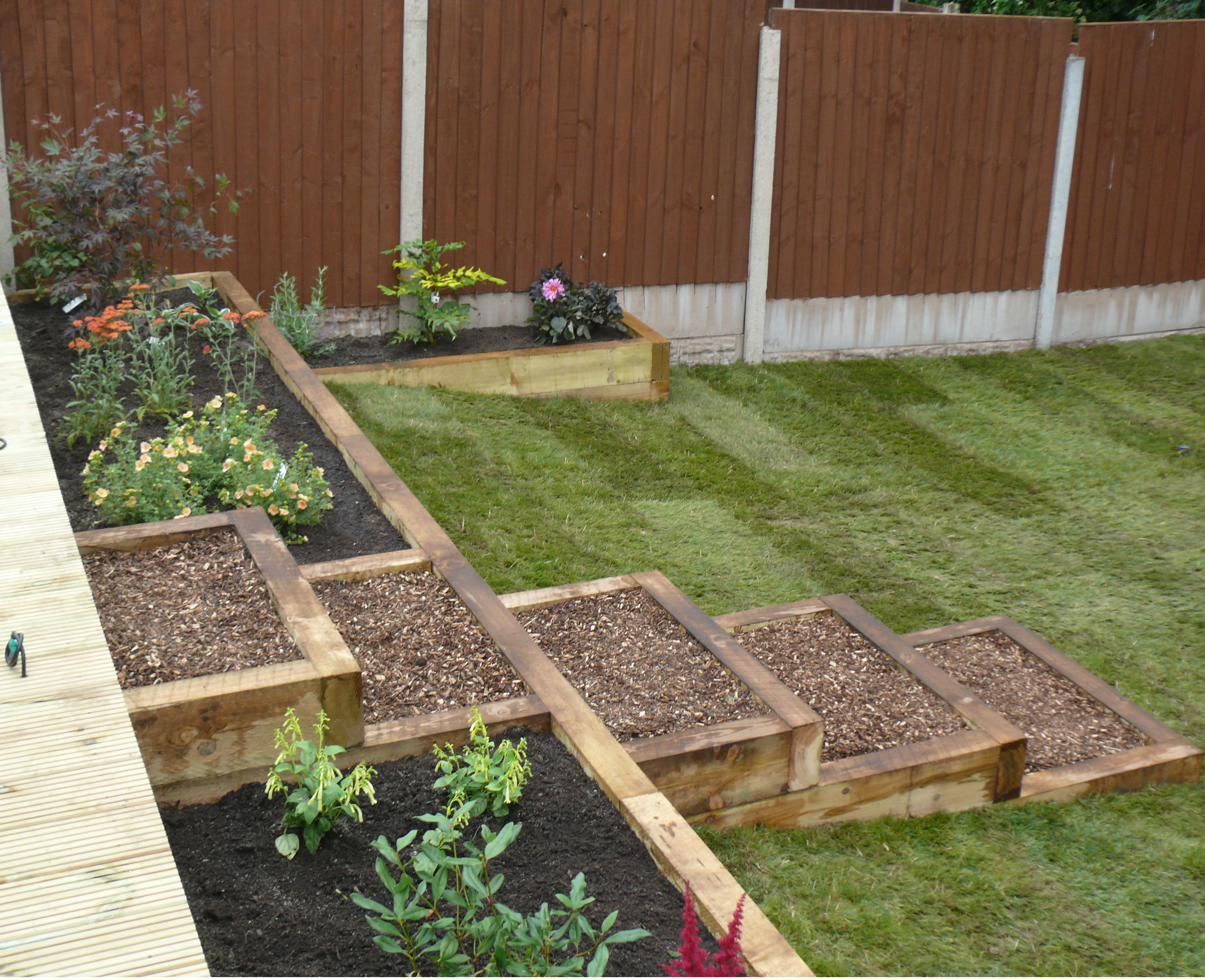 Landscaping in Madeley