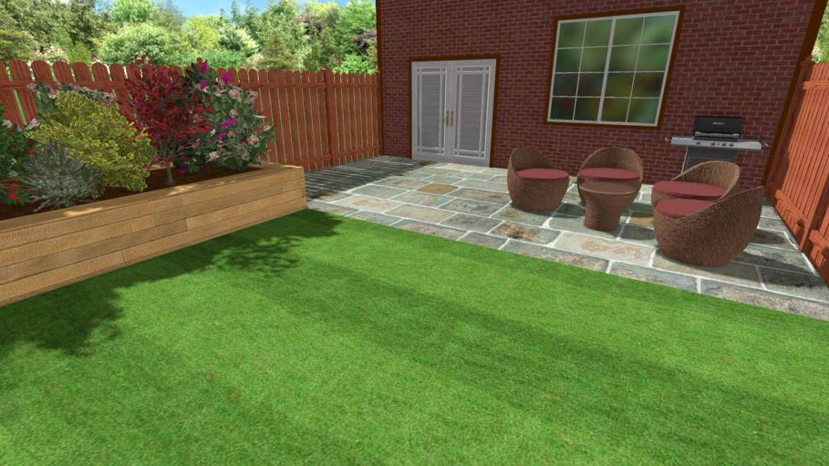 Landscaping in Trentham - CAD Design Example