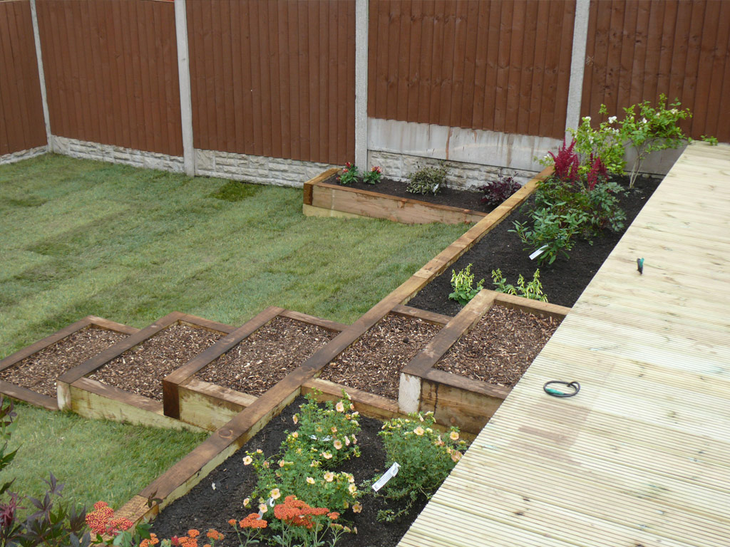 Landscaping in Westbury Park, Newcastle under Lyme