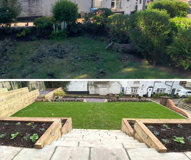 Modern Garden Design Before & After