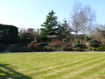 Garden of Distinction in Alderley Edge