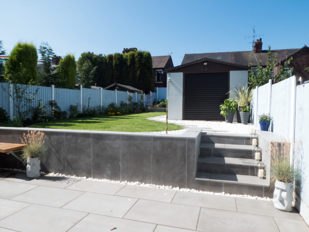 Modern landscaping in Newcastle under Lyme