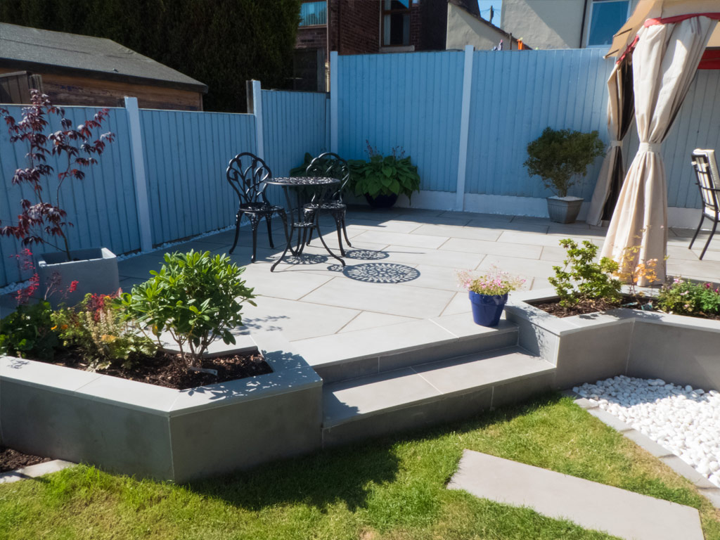 Landscaping in Haslington
