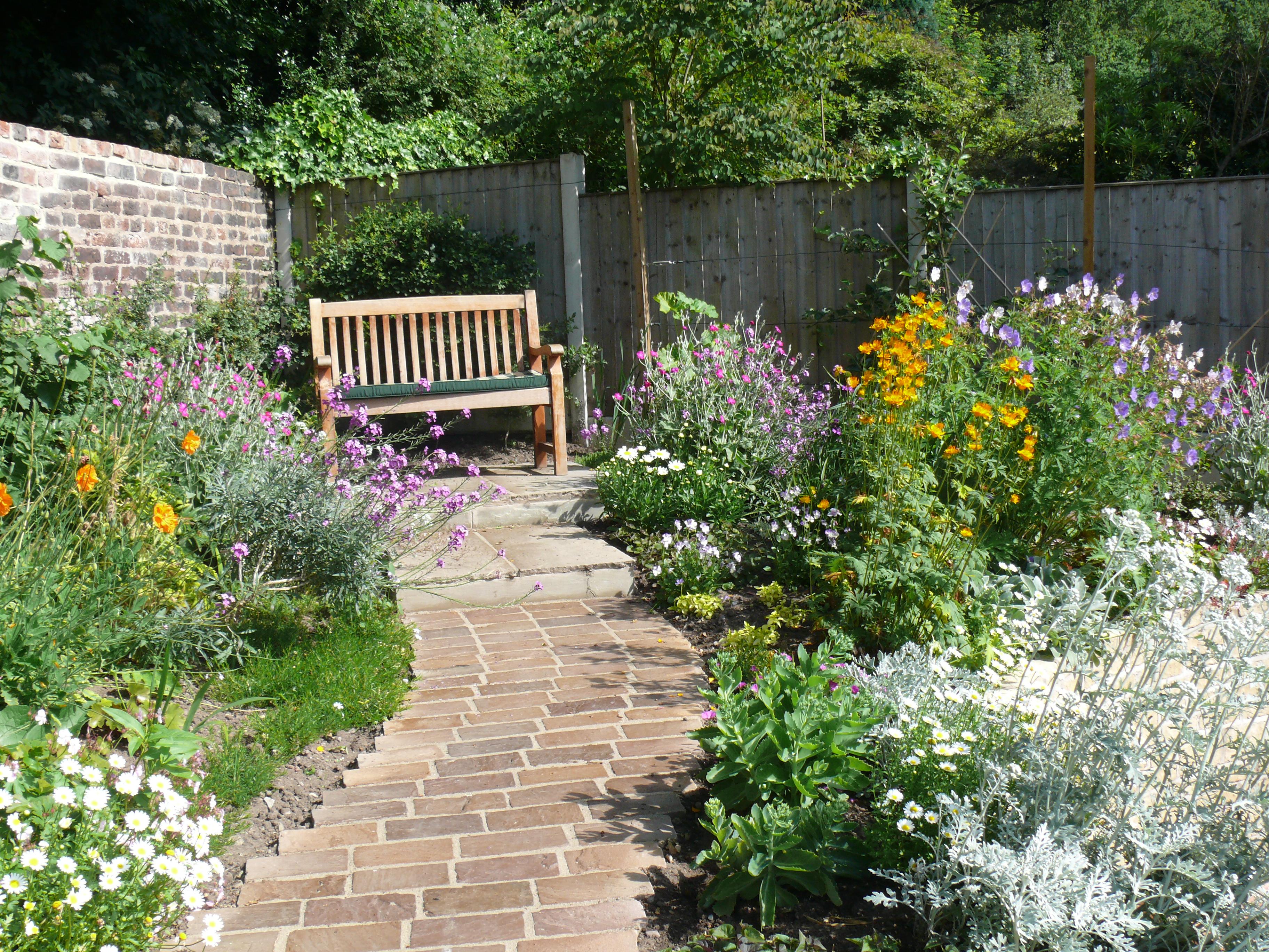 Wildflower Garden Care and Border Maintenance