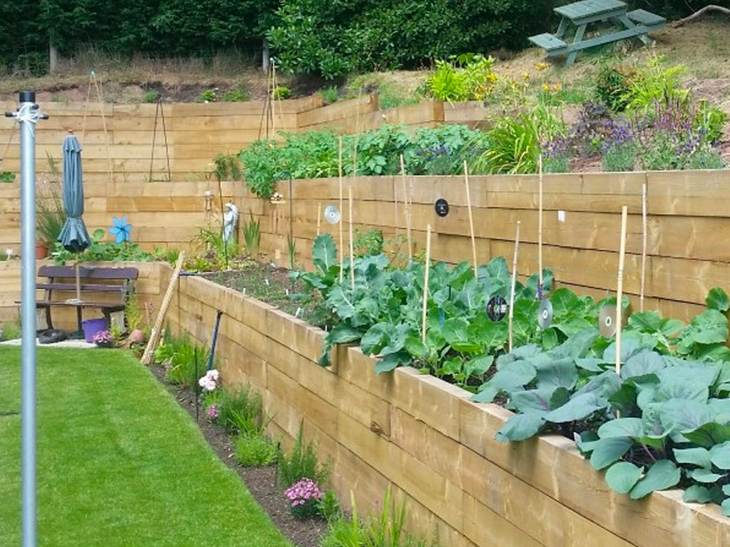 Landscaping in Cheadle, Staffordshire