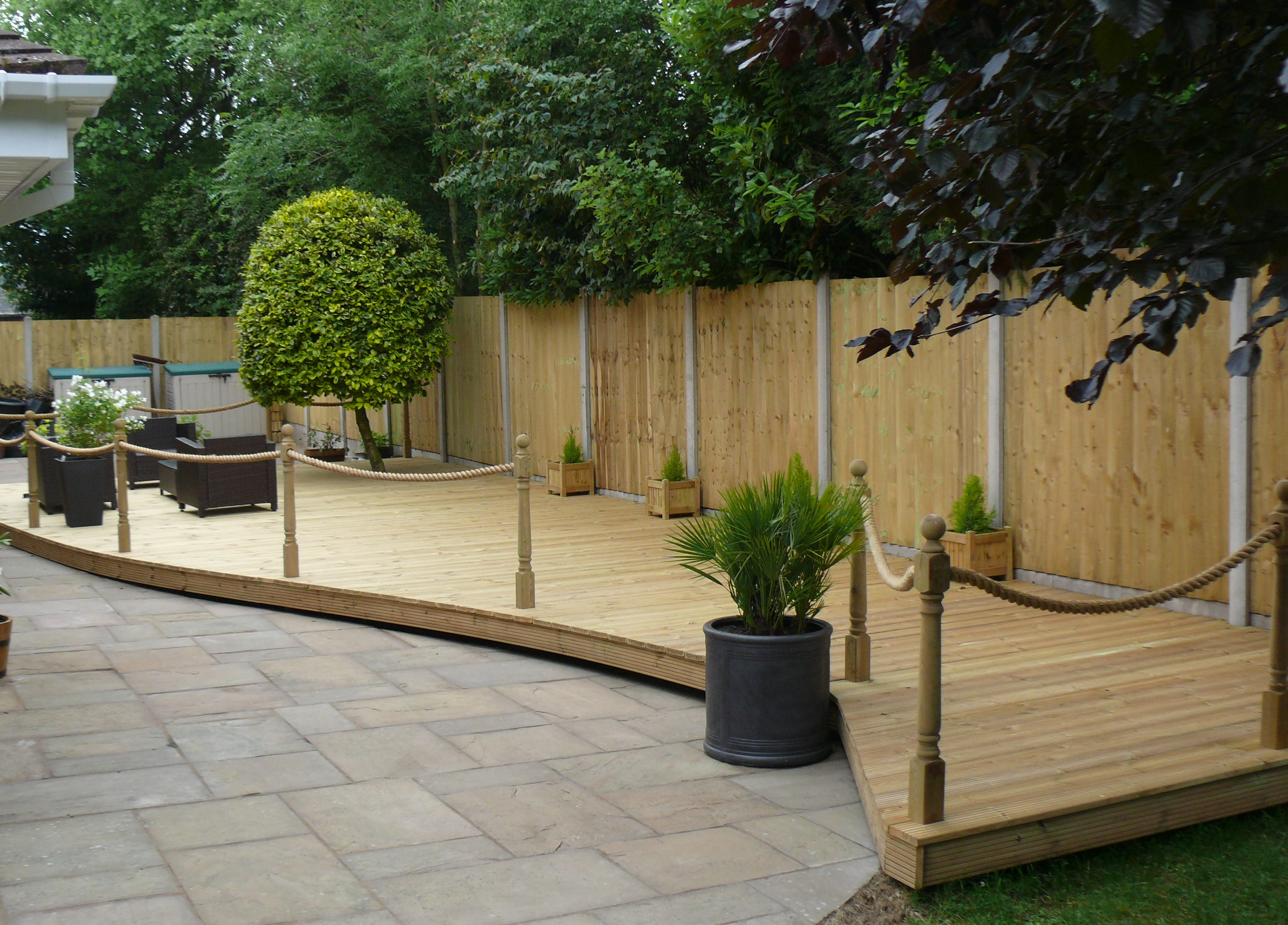 Landscaping in Alsager